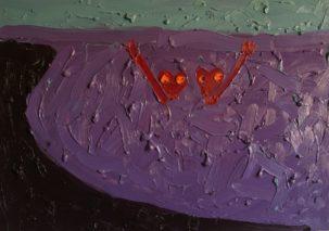 ALONO ŠTELMANO tapybos paroda NEKROFILIJA