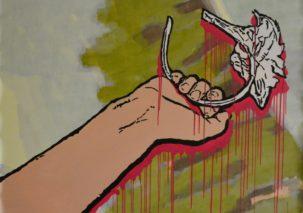 Jolantos Kyzikaitės tapybos paroda ME(A)NO ŽAIDIMAI