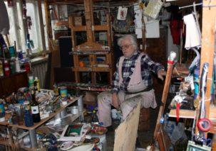 Linas Katinas tapybos paroda 68. IR AČIŪ DIEVU