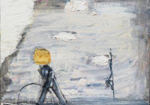 ROMUALDO BALINSKO tapybos paroda ATSIRADIMAI